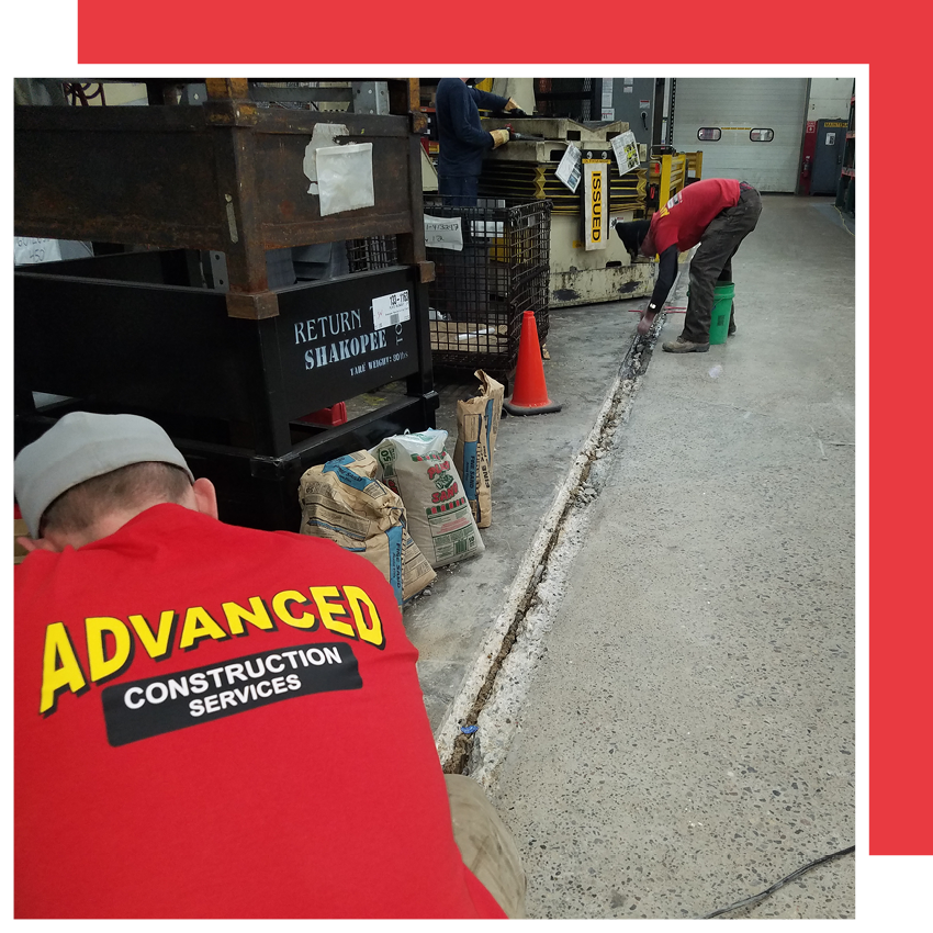Industrial Floor & Warehouse Repairs